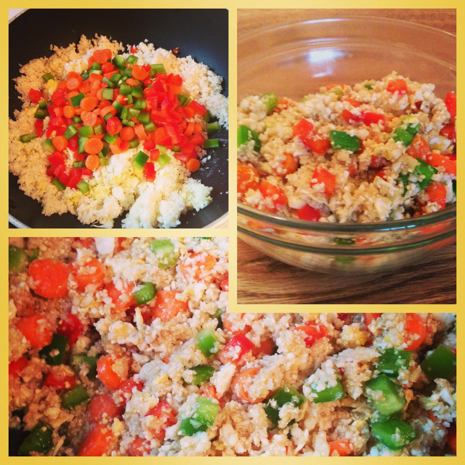 Clean and healthy fried rice recipe eat teach laugh craft 5 forumfinder Image collections