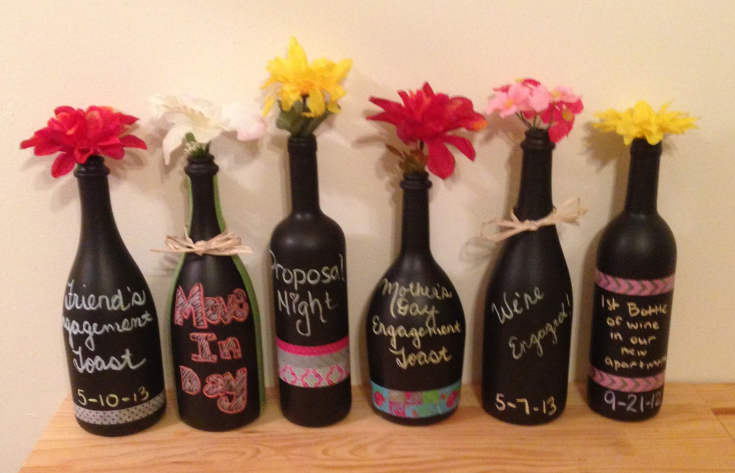 Diy how to remodel special occasion champagne and wine for Diy bottles and jars