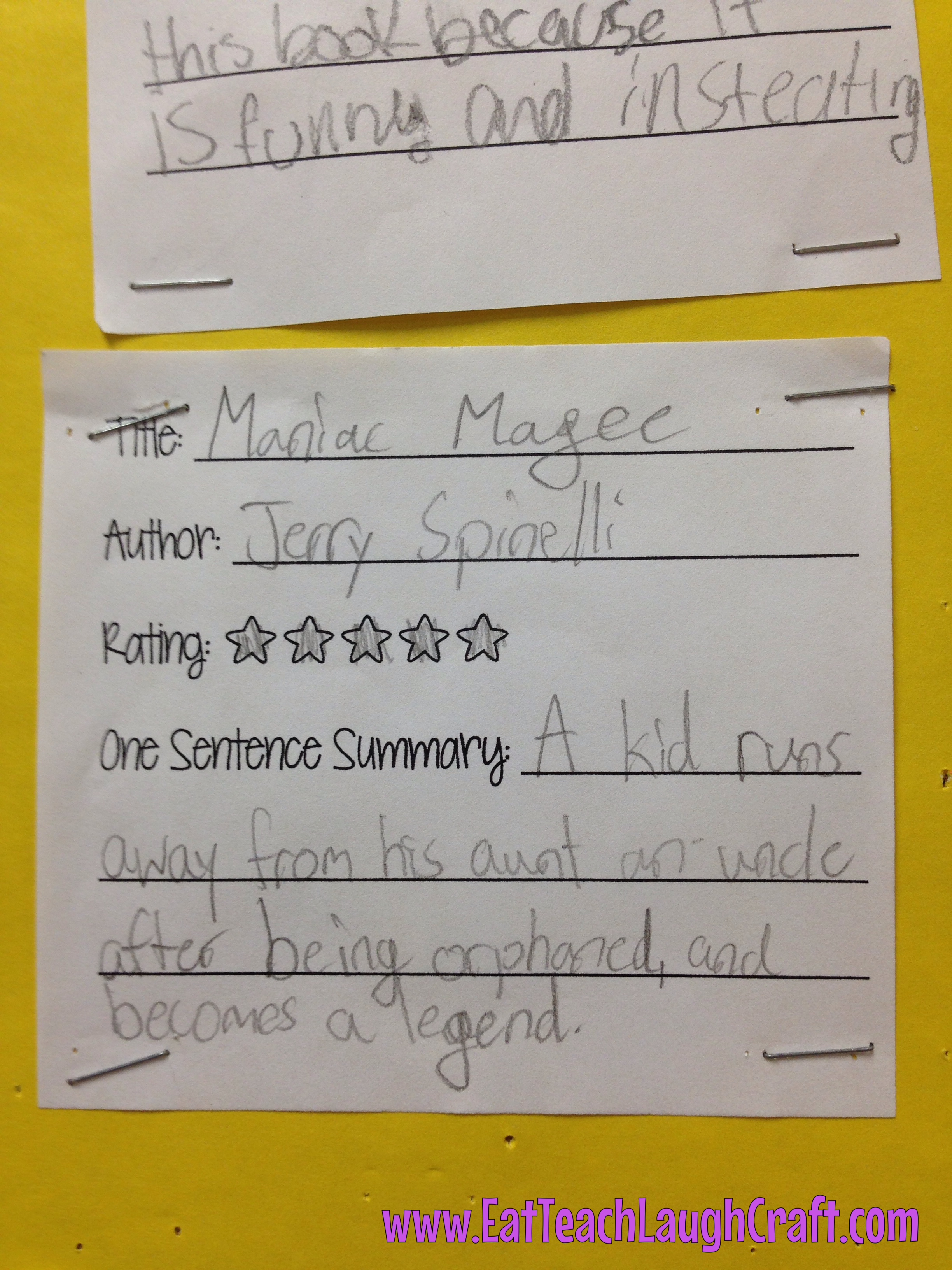 book report maniac magee Immediately download the maniac magee summary, chapter-by-chapter analysis, book notes, essays, quotes, character descriptions, lesson plans, and more - everything you need for studying or teaching maniac magee.