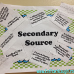 secondary source activity