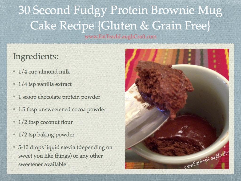 ETLC - 30 Second Protein Mug Cake Thumbnail
