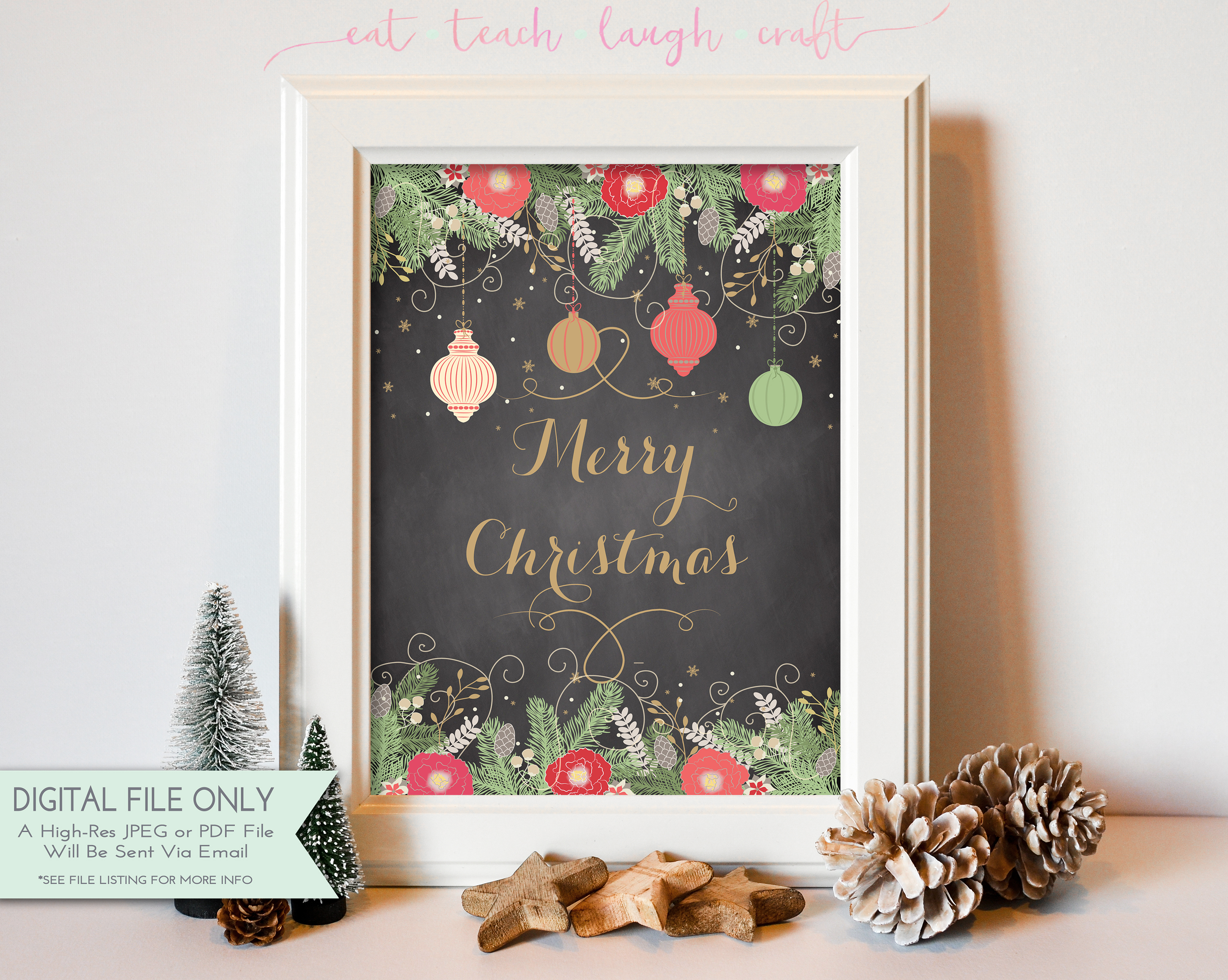 Printable Holiday Signs